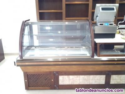 Se vende a buen precio vitrina expositora pasteleria
