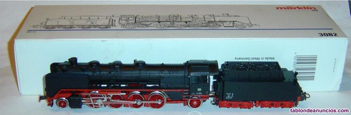Marklin ho, locomotora excelente br 41 r.3082 ¡digital mfx 5 polos con fumígeno!