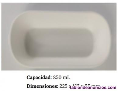 Envase ovalado 850ml NATURAL