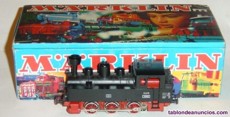 Marklin ho, locomotora de vapor excelente ref. 3090 con caja, ¡digital uhl!