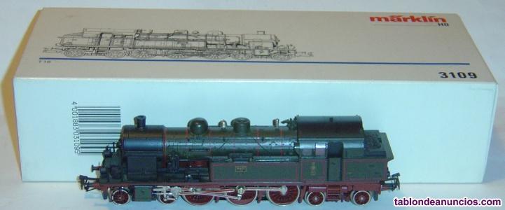 Marklin ho, locomotora excelente t18 k.p.e.v. Ref. 3109, ¡digital motor 5 polos!