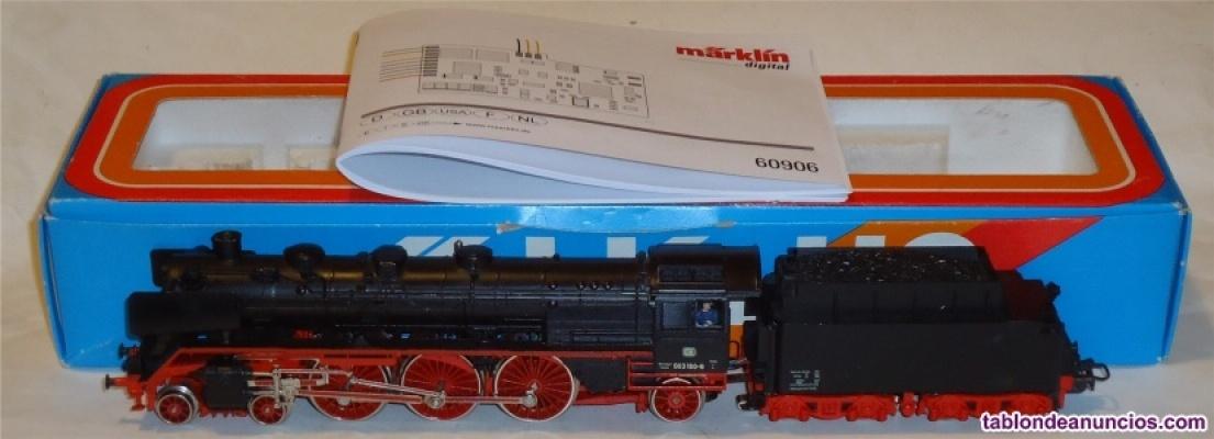 MÄrklin h0, locomotora de vapor br003 160 db ref.3085 ¡digital mfx con fumígeno!