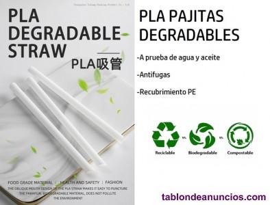 Pajita PLA Biodegradable