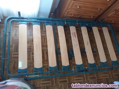 Somier articulado electrico con mando, cama articulada