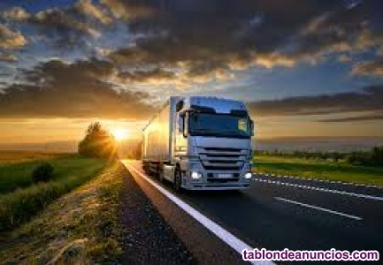 Oferta de empleo - Conductor trailer C+E