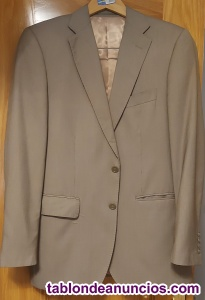 Vendo traje ejecutivo marrón, talla 48