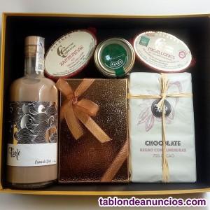 Chocolates y licores artesanales