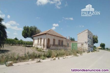 Ref: 0787. Finca de cultivo con casa en venta en Almoradí (Alicante)