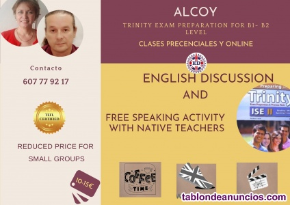 Clases particulares de inglés precenciales y online