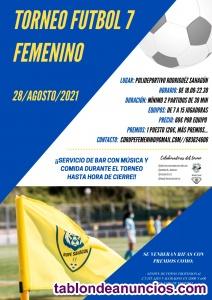 Torneo de fútbol 7 femenino
