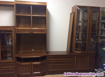 Mueble salón madera maciza