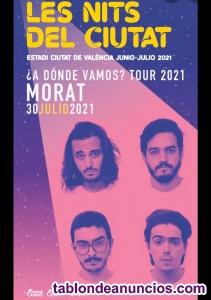 1 entrada Morat Valencia