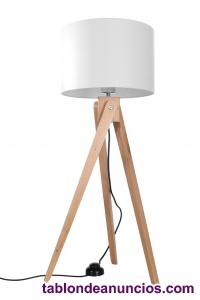 Legno 1 lámpara de pie, madera