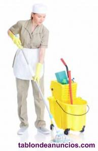 Se necesitan 2 operarios/as de limpieza con experiencia