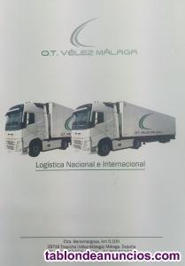 Busco Chofer C+E para transporte nacional e iinternacional