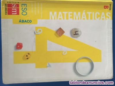 Libro matematicas 4 eso SM