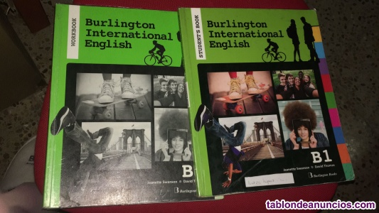 Libro Inglés burlington International English