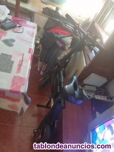 Vendo bicicleta eléctrica sin pedales