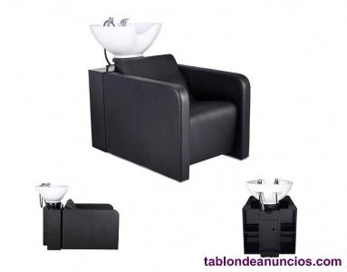 Lavacabezas, tocador y sillón hidráulico