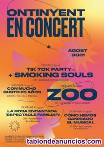 Entradas concierto zoo ontinyent