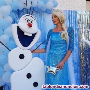Elsa Frozen  para fiestas infantiles