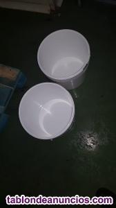 Cubos de plástico 25L