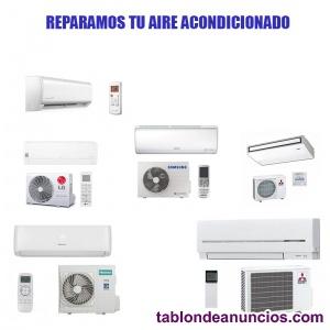 Reparación de aire acondicionado en Alicante