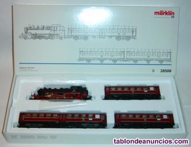 Marklin ho, tren 28508, digital delta, iluminación con led blanco cálido