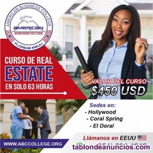 Curso de Real Estate en Español - inscripciones abiertas