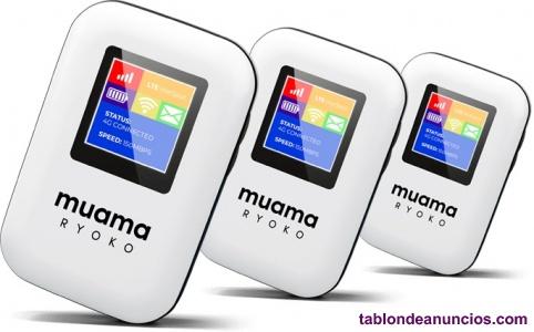 Muama router mobil para tener telefono e internet en cualquier sitio