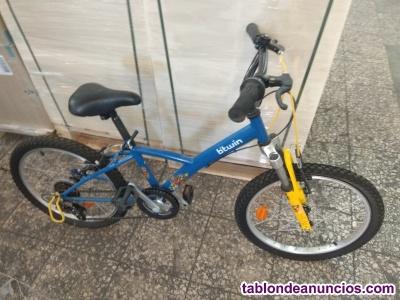 Bicicleta marchas niño B twin