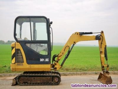 Mini Excavadora Caterpillar 301.6C
