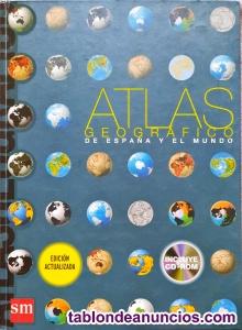 Venta.ATLAS geograf. De España y el Mundo Versión actualizada