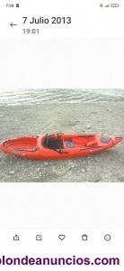 Vendo kayak wilderness tarpon 100.