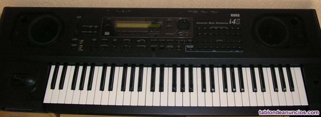 Sintetizador korg i4s