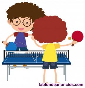 Jugadora pingpong Valencia busca compañeras jugar