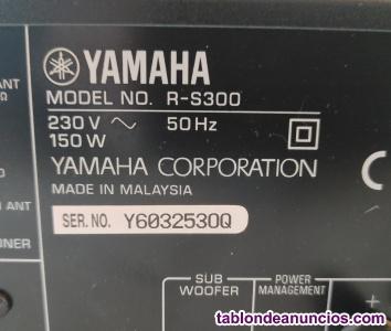 Amplificador Yamaha R-S300