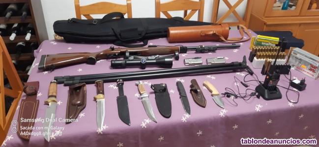 Lote armas, rifle, escopetas etc