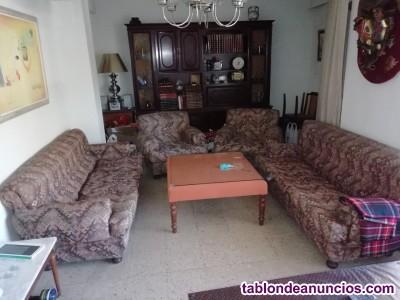 Sofas,  y mesa salon