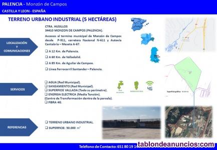 OPORTUNIDAD. Terreno industrial urbano consolidado