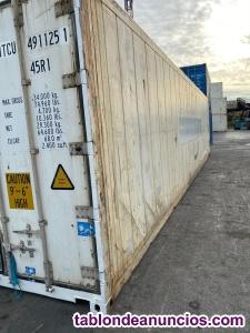 Contenedores frigorificos 40hc 12 m barcelona