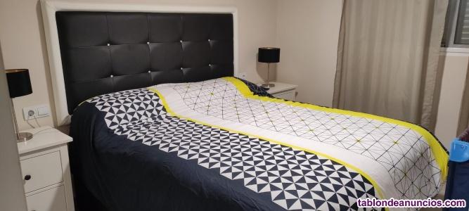 Vendo cama de matriomino, literas y sofa