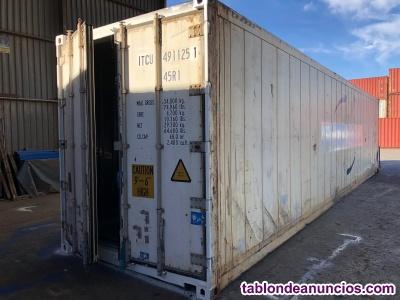 Contenedores frigoríficos  (isotermos) 40hc barcelona
