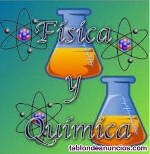 Profesora imparte clases de Física, Química, Biología, Matemáticas,Economía etc.