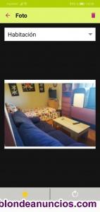 Se alquila preciosa habitación