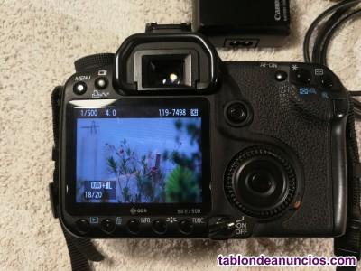 Cámara réflex Canon EOS 50D Sin Objetivo