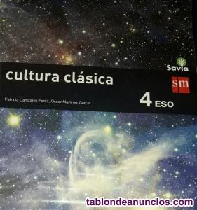 Libro Cultura Clásica 4° Eso