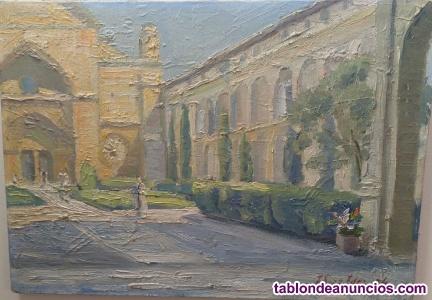 Cuadro de José Diaz Fernández. Monasterio de Santa María la Real