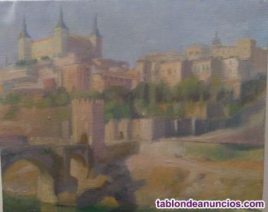Cuadro de José Díaz Fernández. Toledo