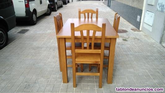 Mesas y sillas de madera especial bares